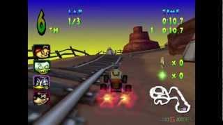 Walt Disney World Quest Magical Racing Tour - Gameplay Dreamcast HD 720P