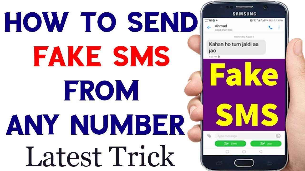 How to Send Fake Sms From Any Number in Pakistan Latest Trick 2018