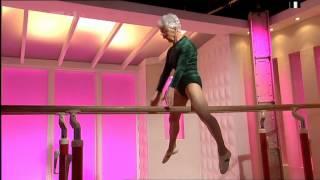 86 year old gymnast