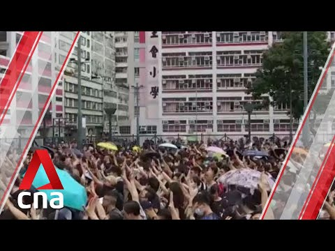 "Violent protesters in Hong Kong are a ""political virus"": HKMAO"