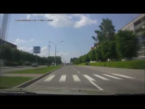 Беларусь. Дорога Брест-Гродно. Belarus. Highway From Brest to Grodno.