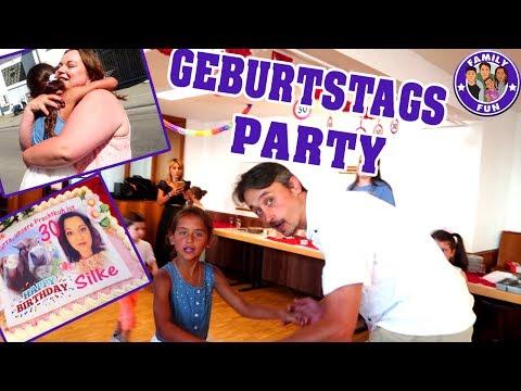 GEBURTSTAGSPARTY FEIERN von SILKE Vlog #95 Our life FAMILY FUN