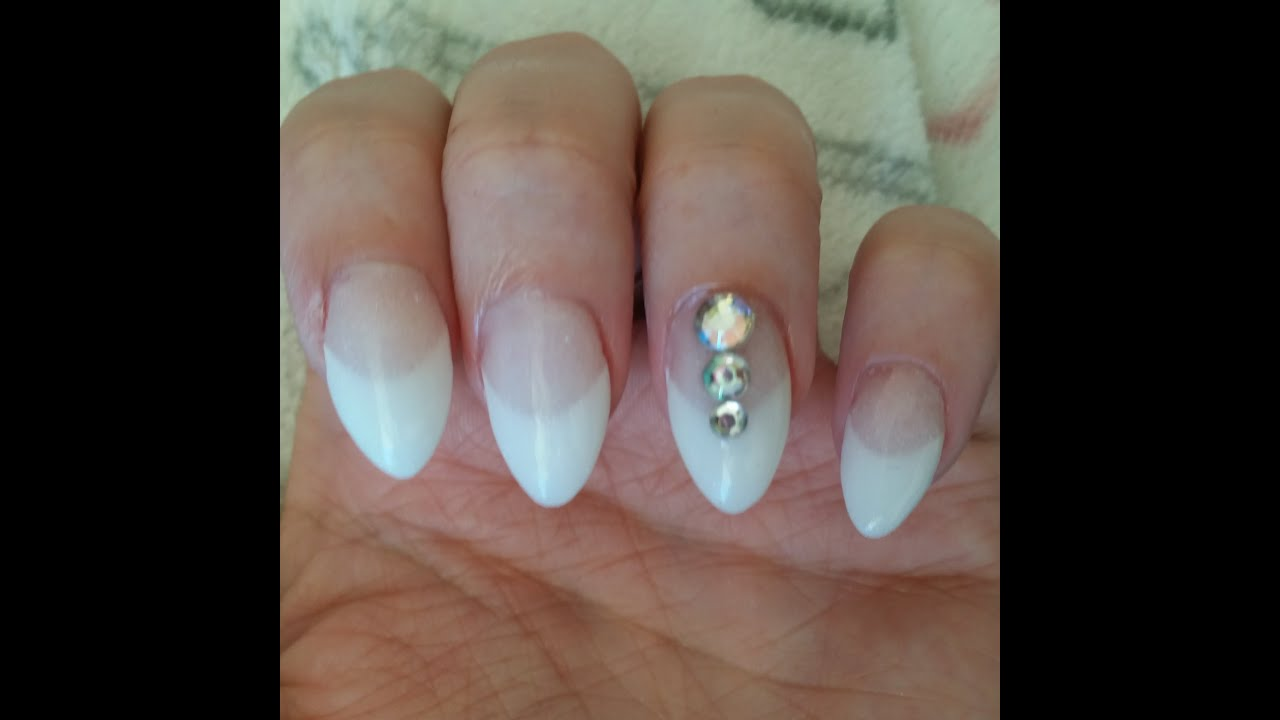 ♥ Acrylic Dip Nails With Tips & Mini Give-away ♥ (CLOSED) - YouTube