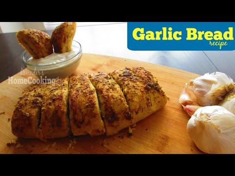 Domino's GARLIC BREAD RECIPE   By Ravinder'sHomeCooking
