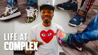 WAYNO HAS NEW SNEAKERS FOR EVERY EPISODE! | #LIFEATCOMPLEX