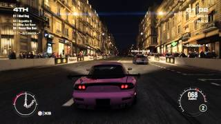 GRID 2 PC Multiplayer Race Gameplay: Tier 3 Fully Upgraded Mazda RX-7 Type RZ in Paris