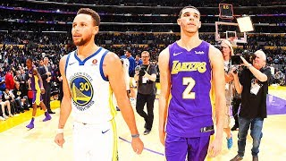 Stephen Curry SHUTS UP Lonzo Ball's Dad LaVar Ball With Win! Stephen Curry vs Lonzo Ball 1 on 1