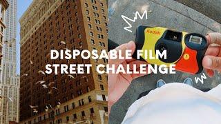 Disposable Camera Street Photography Challenge (Kodak FunSaver)