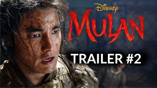 Disney's MULAN:(2020) -TRAILER #2 - Liu Yifei (RE-IMAGINED)