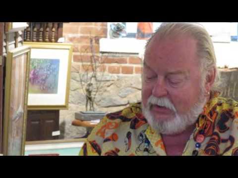 Richard Harteis Poetry reading Courtyard Gallery 2016 08 22