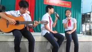 [K4] Kỉ niệm mái trường - Ca sĩ: Thư & Tranh - Guitar: Trí