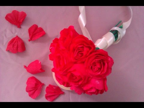 How To Make Paper Flowers Paper Roses