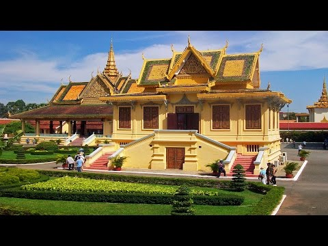 Travel guide view of Royal palace and Silver pagoda in Phnom Penh Part 2 - Visit Cambodia 2017