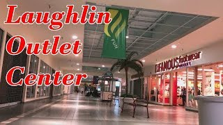 DEAD MALL IN LAUGHLIN, NV - LAUGHLIN OUTLET CENTER - MALL FANTASY