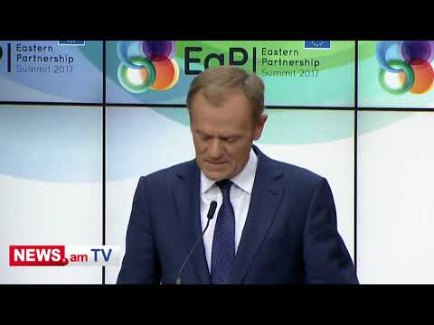 Tusk: We are signing new ambitious agreement with Armenia