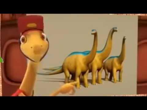Поезд динозавров   Ларамидия песня