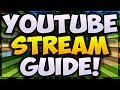 How To LIVESTREAM On YouTube Gaming! (DONATION and SUB ALERTS) 🔴 [ULTIMATE Streaming Guide]