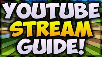 How To LIVESTREAM On YouTube 2020! (DONATION and SUB ALERTS) 🔴 [ULTIMATE Streaming Guide]