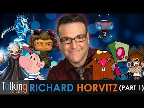 Richard Horvitz  Talking Voices Part 1