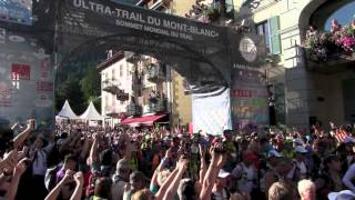 The Start of the 2015 Ultra-Trail du Mont-Blanc