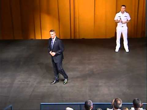 Former Joint Chiefs Chairman, General Peter Pace (USMC retired) Addresses Midshipmen Part 2