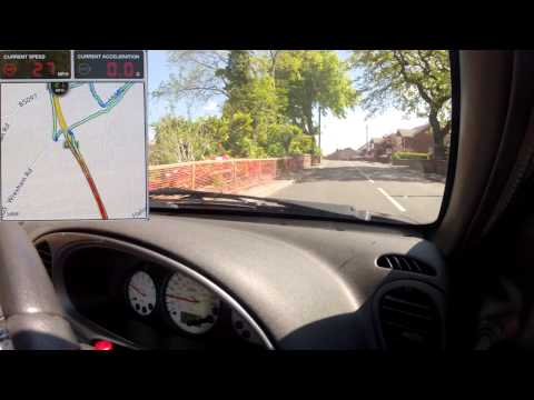 16 Minute Car Journey May 2013 - Testing Co-Op Insurance Smart Box