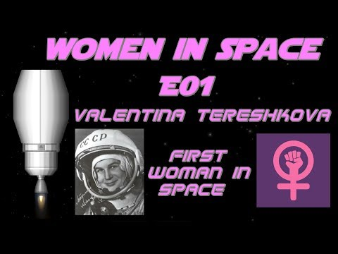 Women In Space Episode 1| Valentina Tereshkova - First Woman In Space | SpaceFlight Simulator (SFS)