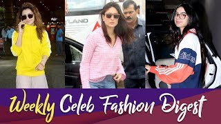 Weekly Celeb Fashion Digest: Kareena, Janhvi, Urvashi Get Snapped In Chic Casuals