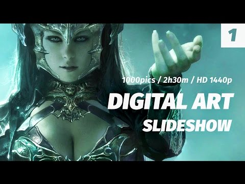 1. Digital Art Slideshow HD / 1000pics / 2h30m