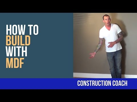 How to build with MDF - DIY build-in's