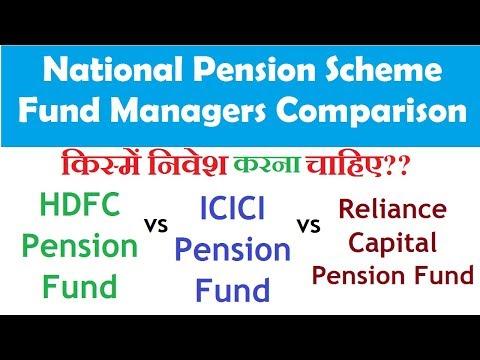 हिंदी - HDFC Pension Fund vs ICICI Pension Fund vs Reliance Pension Fund | NPS Comparison