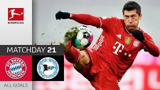 Spectacular Draw With 6 Goals | FC Bayern München - Arminia Bielefeld | 3-3 | All Goals | MD 21
