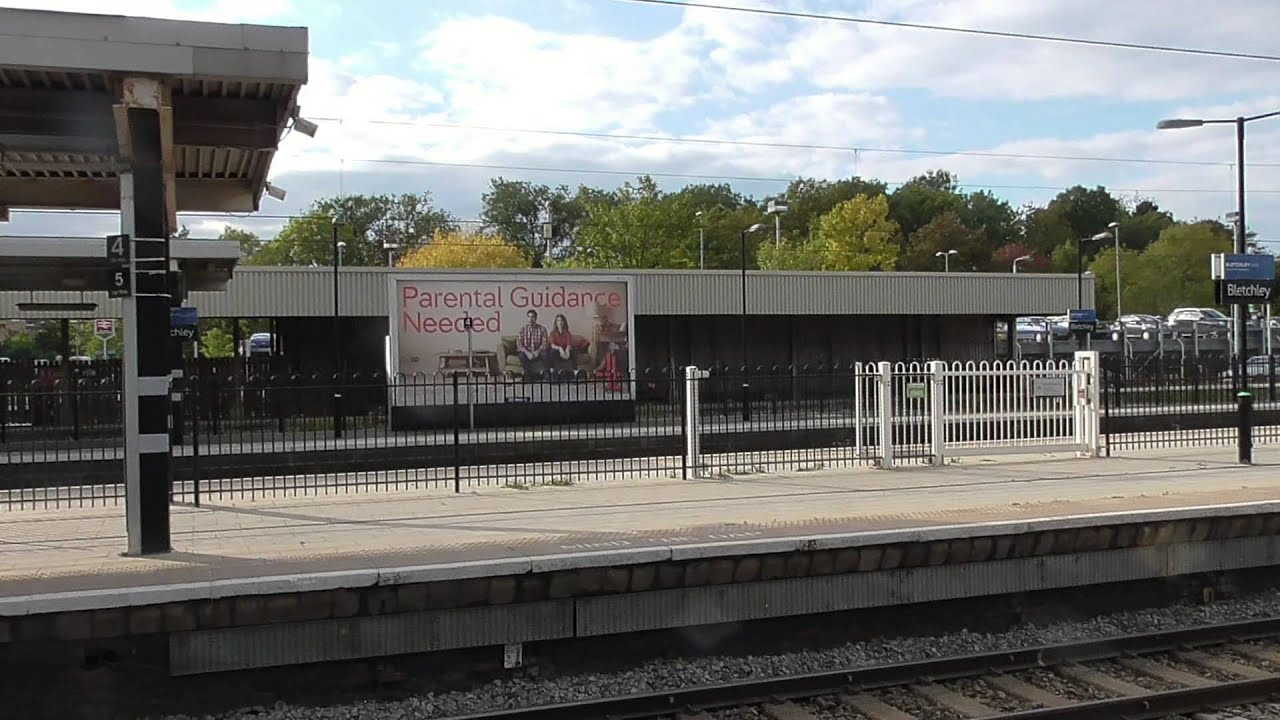 bletchley railway station 9th october 2015 youtube. Black Bedroom Furniture Sets. Home Design Ideas