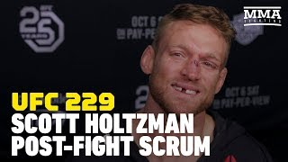 UFC 229: Scott Holtzman Says Show Money Might Go Toward Daycare For Newborn Son – MMA Fighting