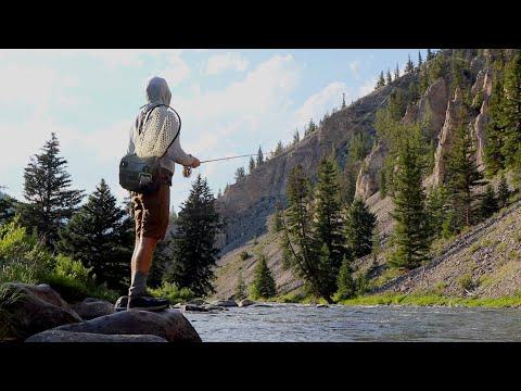 FISHING THE GALLITAN RIVER IN MONTANA