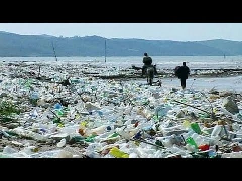 تلوث البحار والمحيطات بالنفايات البشرية Youtube