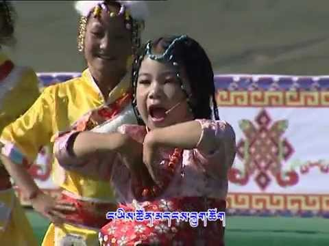 Tibetan Children's Songs and Performance ཁ་བའི་འདུན་མ། Part One