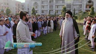 جشن میلاد النبیﷺ کی تیاری ۔ حوزہ علمیہ جامعہ عروۃ الوثقیٰ لاہور