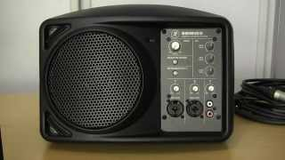 Mackie SRM150 powered loudspeaker review and user guide