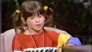 VINTAGE 80'S PUNKY BREWSTER SOLEIL MOON FRYE TV INTERVIEW