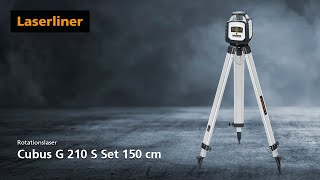 Rotationslaser - Innovation - Cubus G 210 S Set 150 cm - 052.305A