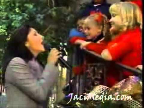 Jaci velasquez Feliz Navidad live CBS by jacimedia