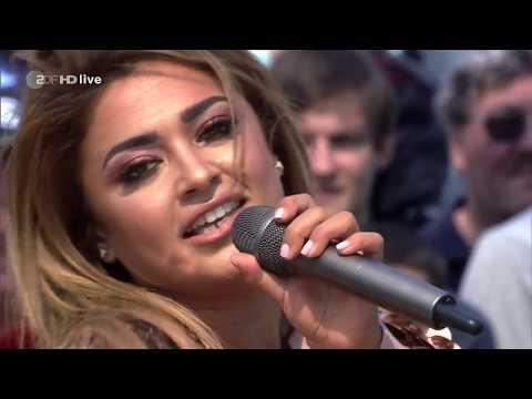 Maria Voskania - Ich seh nur Dich - ZDF Fernsehgarten 03.09.2017 (Germany TV)