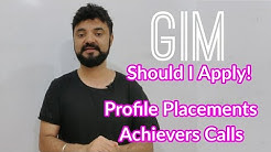 GIM Should I apply? Achievers Round calls out! Goa Institute of Management Profile and Placements.