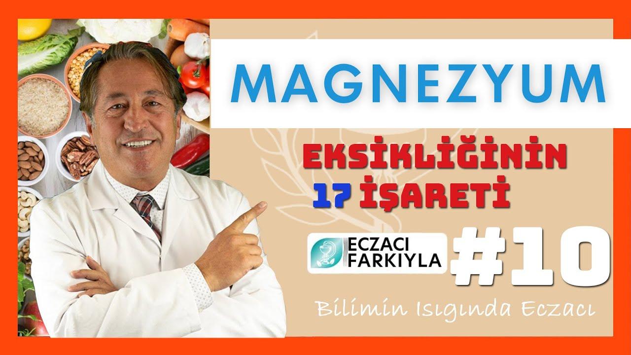 Magnezyum Eksikliğinin 17 İşareti