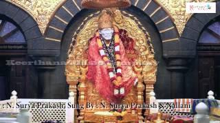 Shiridi Vasa Sai Prabho || Sri Shiridi Sai Natha Telugu Bakthi Geetalu || Music by : N.Surya Prakash