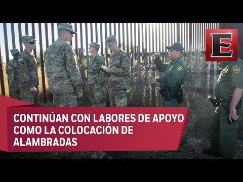 EU mantiene despliegue de militares en la frontera con México