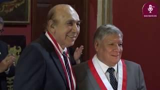 Tema: Distinción como Profesores Eméritos a Mario Amoretti y Ulises Montoya