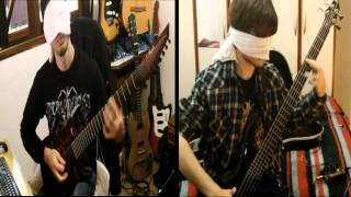 Spawn of Possession - Dead & Grotesque (cover dual: bass/guitar)