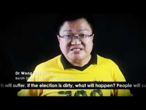Dr.Wong Chin Huat message, Bersih steering committee (